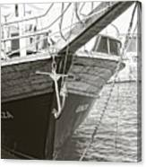 Bow Of The Boat Canvas Print