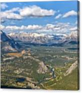 Bow River Beauty Canvas Print