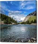 Bow River Alberta Canvas Print