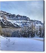 Bow Valley Castle Cliffs Canvas Print