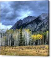 Bow Valley Parkway Banff National Park Alberta Canada IIi Canvas Print