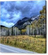 Bow Valley Parkway Banff National Park Alberta Canada Canvas Print