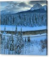Bow Valley River Giant Panorama Canvas Print