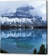 Bow Valley Storm Canvas Print