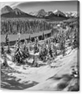 Morant's Curve Black And White Canvas Print