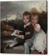 Bowden Children Canvas Print