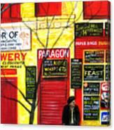 Bowery Canvas Print