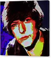 Bowie 60s Fringe  Canvas Print