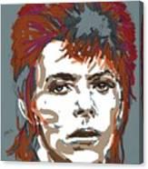 Bowie As Ziggy Canvas Print