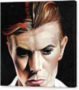 Bowie Thin White Duke Canvas Print