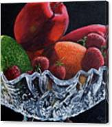 Bowl Of Fruit Canvas Print