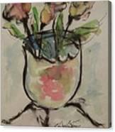 Bowl Vase Canvas Print
