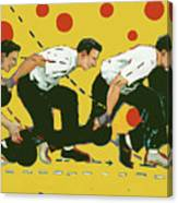 Bowling Lesson Canvas Print