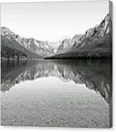 Bowman Lake - Glacier National Park 2 Canvas Print