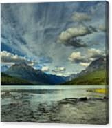 Bowman Lake Montana Canvas Print