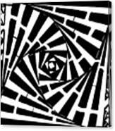 Box In A Box Maze Canvas Print