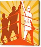 Boxing Champion Canvas Print