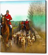 Boxing Day Hunt Canvas Print