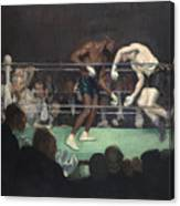 Boxing Match Canvas Print