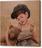 Boy And Bear  Canvas Print