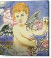 Cherub Canvas Print