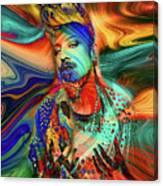 Boy George Digital Art Canvas Print