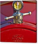 Boyce Motometer Hood Ornament Canvas Print