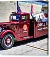 Boyle Racing Headquarters  Canvas Print