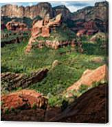 Boynton Canyon 05-942 Canvas Print