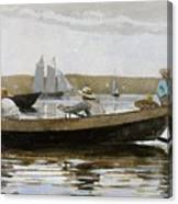 Boys In A Dory, By Winslow Homer, Canvas Print