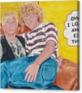 Boyz2men Canvas Print