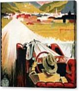Bozen-gries - Dolomiten - Bolzano-gries - Retro Travel Poster - Vintage Poster Canvas Print