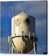 Bradenton Water Tower  Canvas Print