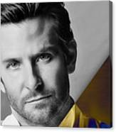 Bradley Cooper Collection Canvas Print