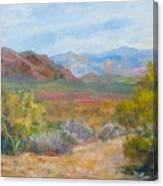 Bradshaws, West Of Phoenix Canvas Print