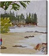 Brady Beach #2 Canvas Print