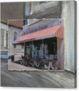 Brady Street - Peter Scortino Bakery Layered Canvas Print