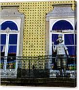 Braga Balcony Canvas Print
