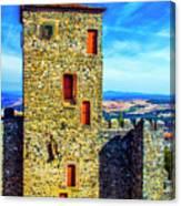 Braganca Castle Tower Canvas Print