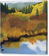 Bragg Creek Canvas Print