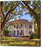 Bragg Mitchell House In Mobile Alabama Canvas Print