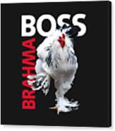 Brahma Boss II T-shirt Print Canvas Print