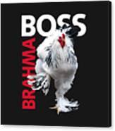 Brahma Boss II t-shirt print Canvas Print