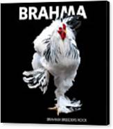 Brahma Breeders Rock T-shirt Print Canvas Print