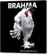 Brahma Breeders Rock T-shirt Print Canvas Print