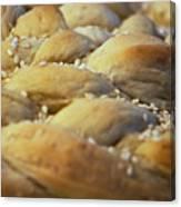 Braided Bread Canvas Print