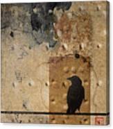 Braille Crow Canvas Print