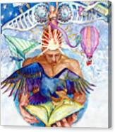 Brain Child Canvas Print