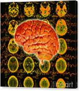 Brain Composite Canvas Print