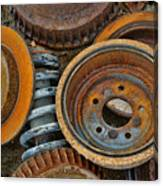 Brake Drums - Disc Brakes - Shock Assembly Canvas Print